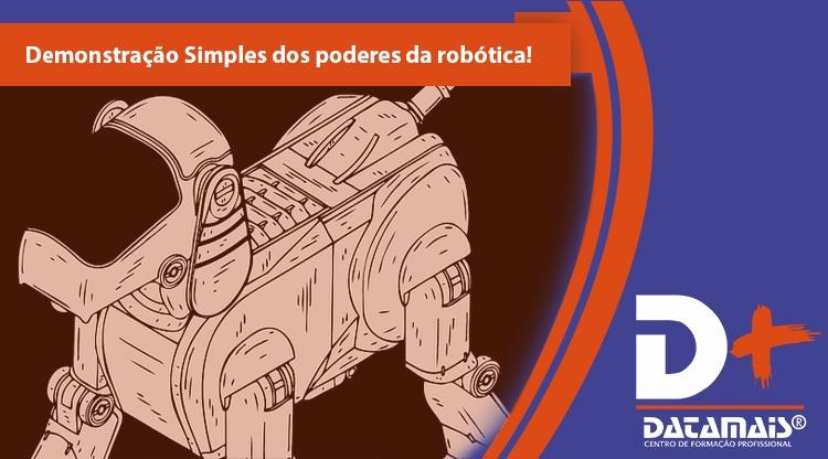 Demonstração simples dos poderes da robótica!