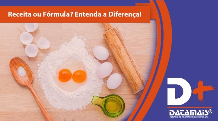 Por que você precisa saber a diferença entre uma receita e uma fórmula!