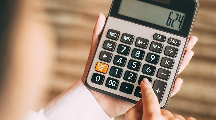 Como calcular porcentagens com a calculadora